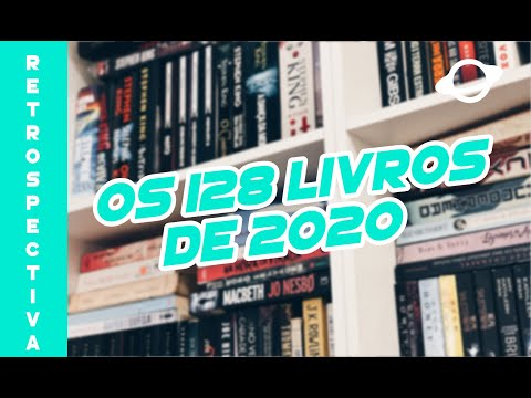 RETROSPECTIVA LITERÁRIA DE 2020 ?128 livros e algumas estatísticas! ? | BOOK GALAXY