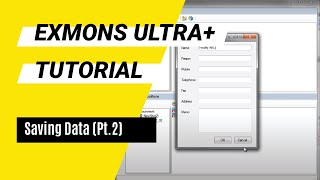 Exmons Ultra+ Tutorial - Saving Data (Pt. 2)