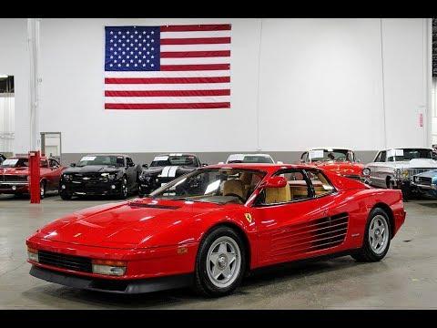 1986 Ferrari Testarossa (CC-1302920) for sale in Kentwood, Michigan