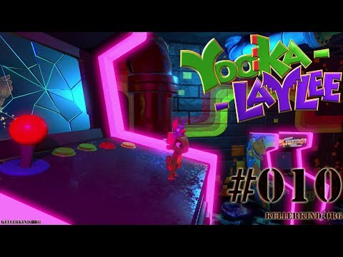 YOOKA-LAYLEE #10 – Rextro's Spielcasino ★ Speedy plays Yooka-Laylee [HD|60FPS]