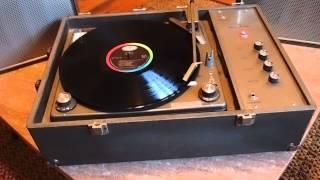 1972 Voice Of Music Record Player Model 296/AV
