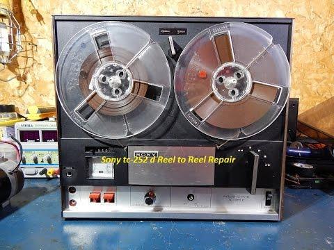 Sony tc-252 d Reel to Reel Repair