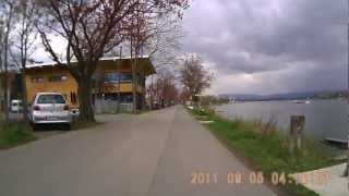 preview picture of video 'Radfahrt von  Gustavsburg nach dem Mainzer Markt am 07.04.2012'