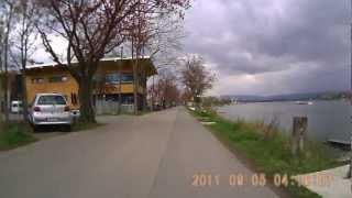 preview picture of video 'Radfahrt von  Gustavsburg nach dem Mainzer Markt am 07.04.2012'