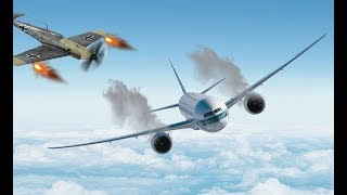 Удивительный полет! Самолет попал в прошлое и был сбит
