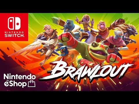Brawlout Nintendo Switch Launch Trailer thumbnail
