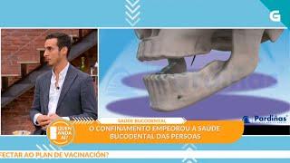 Simón Pardiñas en lana Televisión de Galicia - Quien anda Ahí? (12-03-21)
