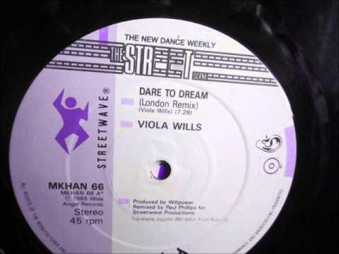 "Viola Wills  - Dare to dream.  1985  (12"" London remix)"