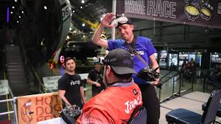 Micro Drone Race Finale at the National Museum of the USAF Feb. 2020