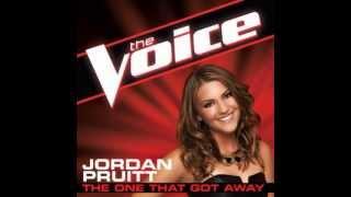 "Jordan Pruitt: ""The One That Got Away"" - The Voice (Studio Version)"