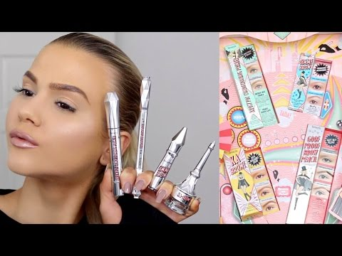 First Impressions | NEW Benefit Brow Collection | Browvo, Ka-BROW, Goof Proof & Gimme Brow
