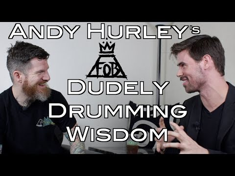 Rad Drumming Tales with Fall Out Boy's Andy Hurley