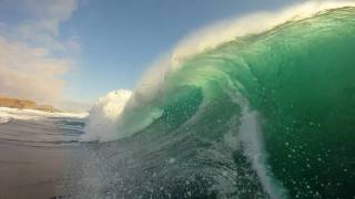 GoPro HD HERO Camera: Big Wave Surfing in Chile