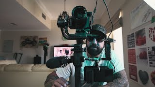 Pimping out DJI RONIN S with accessories, my gimbal rig