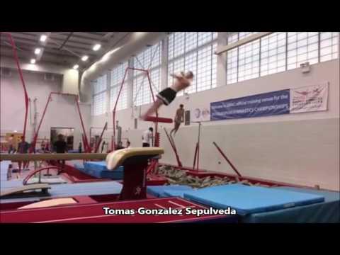 Morgan Hurd's Double Double Layout, Amanar by NCAA Gymnast, Melanie De Jesus Dos Santos