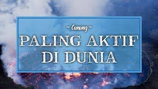Deretan Gunung Api Paling Aktif di Dunia, Termasuk Merapi di Jogja