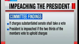 What it takes to impeach a president
