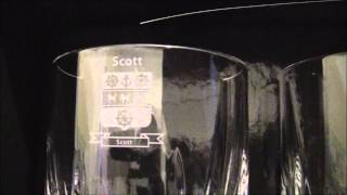 Family Crest Whiskey Glass, Coat Of Arms