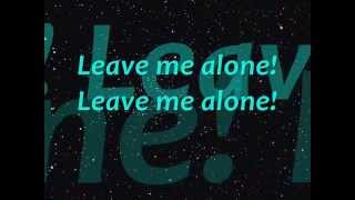 Michael Jackson - Leave me alone Lyrics