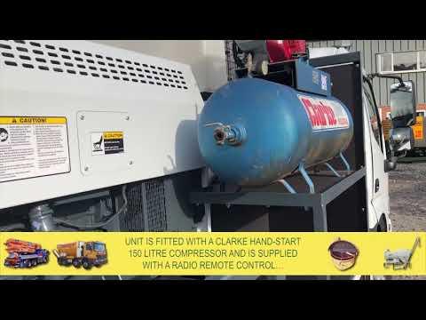 Hino / Hydropump LS600 Concrete Line Pump