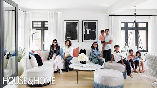 Tour A Vibrant & Playful Kid-Friendly Home