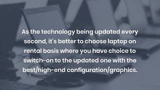 Why Should you Choose Laptop Rental Services in Dubai?