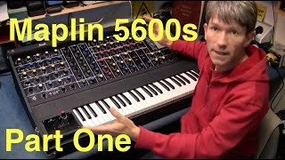Maplin 5600s vintage analog synth repair PART ONE MF#45