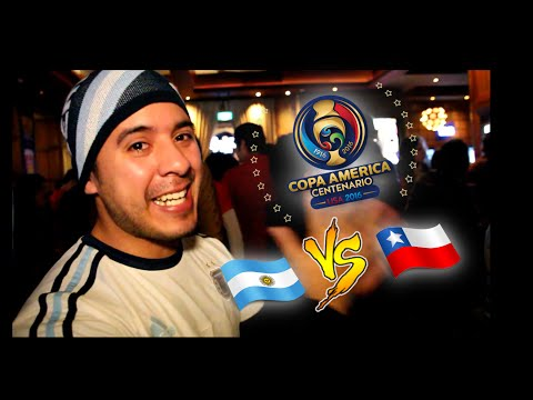 Copa América 2016 - Argentina vs Chile desde Australia!!