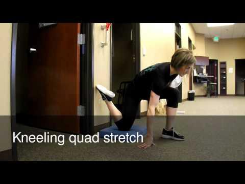 壁を利用して出来る!大腿直筋(前もも)のストレッチ方法