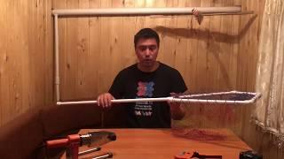 Как сделать сачок из марли для ловли кузнечиков