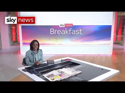 Sky News Breakfast: Families to receive free rapid testing kits in England