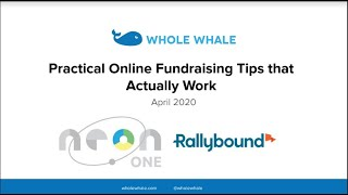 Practical Online Fundraising Tips That Actually Work