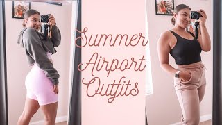 CUTE AIRPORT OUTFITS FOR THE SUMMER!