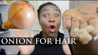 HOW TO: When Onion Juice Goes Wrong | HairCare