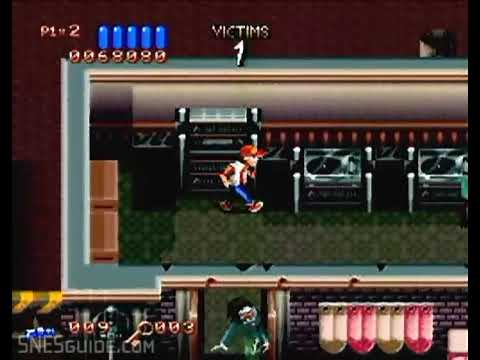 Ghoul Patrol - SNES Gameplay