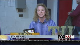 Bixby's Ethan Hall bringing great game and hair to TU