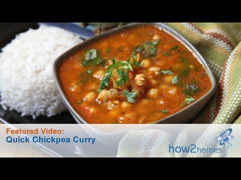 Image of Quick Chickpea Curry