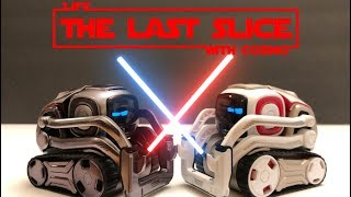 Cozmo has a lightsaber duel in