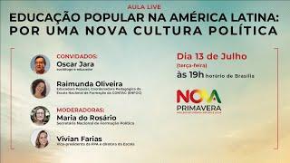 Educação Popular na América Latina: Por uma nova cultura política | Nova Primavera