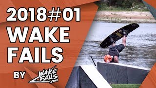 Best Wakeboard Fails Of January 2018 By Wakefails.com