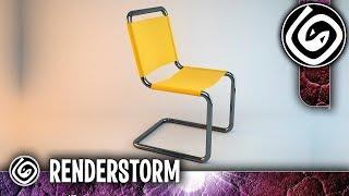 Моделирование стула из сплайнов (Урок 3ds Max для начинающих)