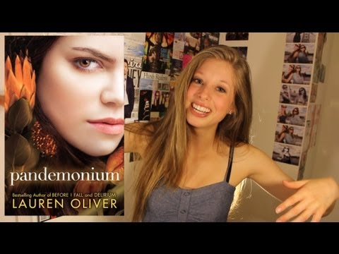 PANDEMONIUM BY LAUREN OLIVER: booktalk with XTINEMAY