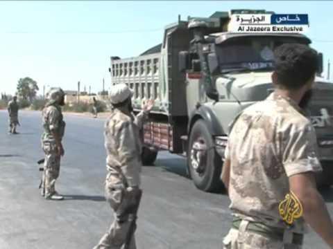 اشتباكات بين الجيش الحر والنظامي في مدينة أريحا