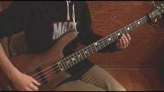 「初音ミクの消失LONGVERSION」をベースで弾いてみた