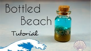 Bottled Beach Tutorial! Easy and Cute :) - Video Youtube