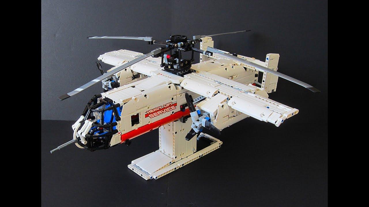 [TC15] Lego Technic Fairey Rotodyne | The heliplane!