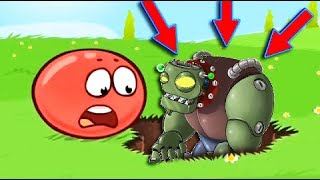 ЗОМБИ ШАР КРАСНЫЙ ШАРИК 4 ПОДЗЕМНЫЕ ХОДЫ мультик игра для детей RED BALL 4 Volume 5 INTO THE CAVE