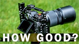 Fuji 50-230mm lens?? TWO minute REVIEW with photo examples!