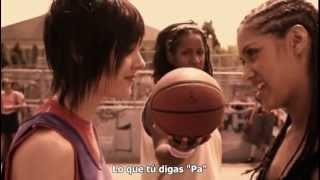 la partie de basket