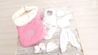 Во что одевать новорожденную - выписка малышки из роддома зимой.